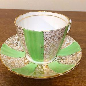 Vintage Phoenix Bone China teacup and saucer set
